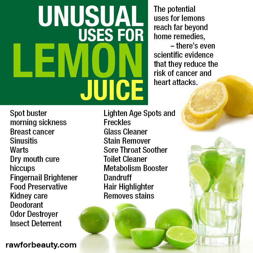 Warm Lemon Juice benefits