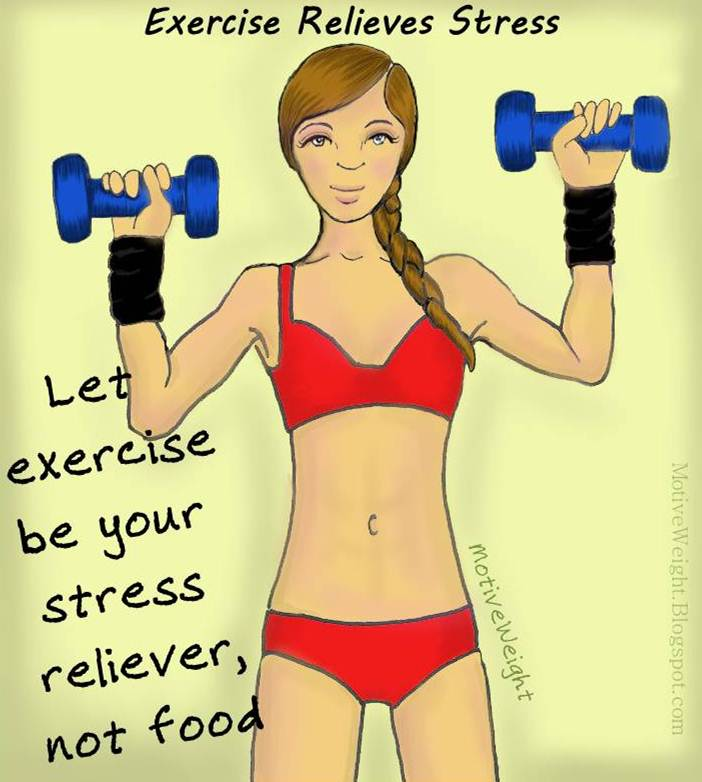 Exercise relieves stress