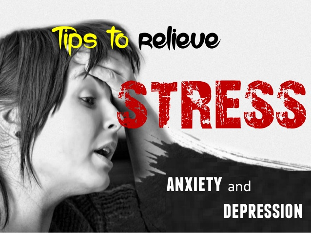 how to deal with stress and anxiety at work