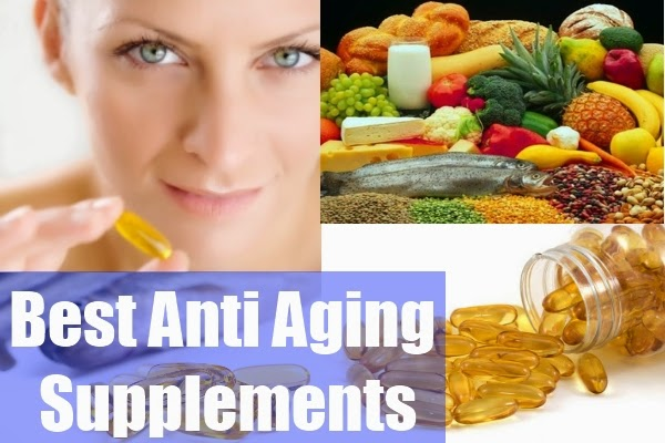Supplements for Slowing Down The Ageing Process