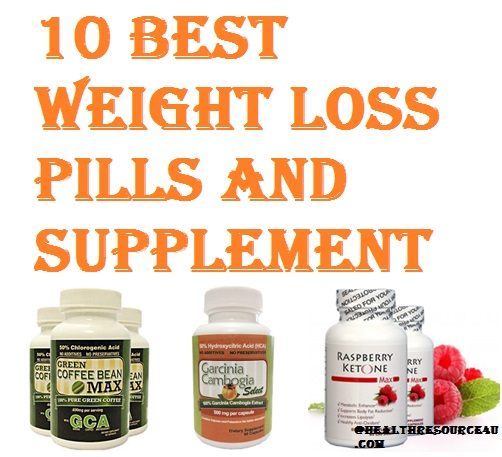 10 best weight loss pills and supplements in 2016 for Best fish for weight loss