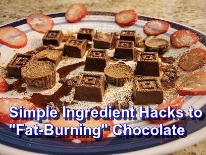 """fat-burning"" chocolate  recipe"