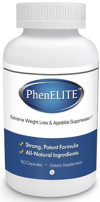 PhenELITE weightloss diet pills
