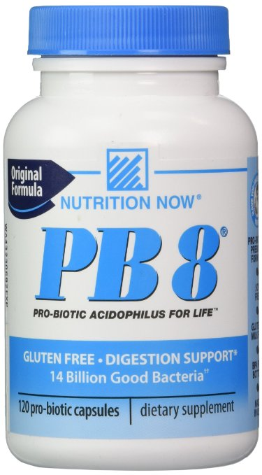 Nutrition Now PB8 120 pro-biotic capsules