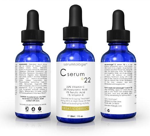 Serumtologie Vitamin C serum 22 Anti Aging Moisturizer