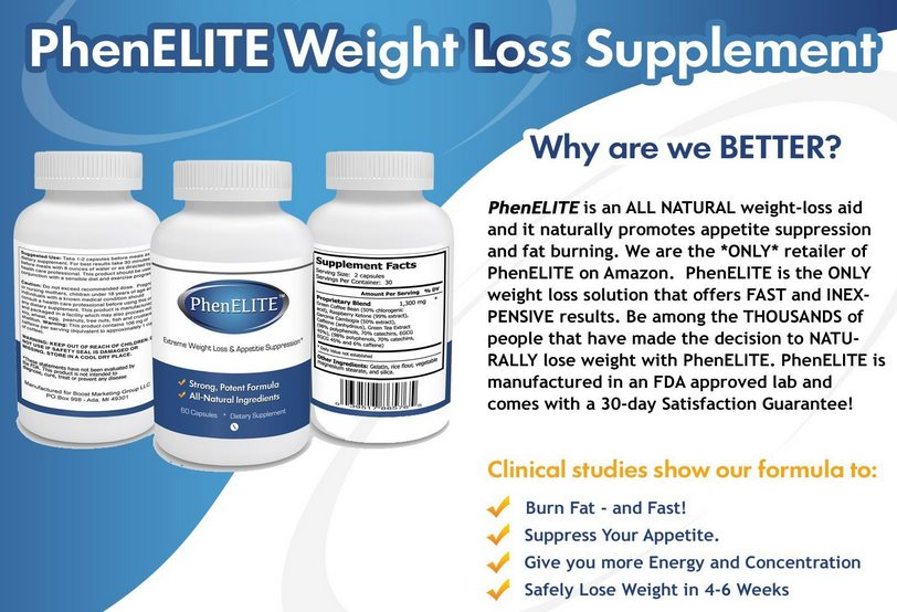 phenelite weightloss pills