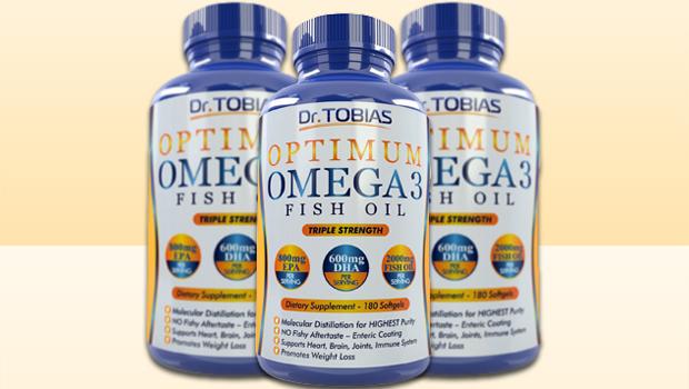 Dr. Tobias Optimum Omega 3 Fish Oil
