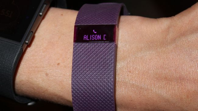 Fitbit Charge HR Caller ID