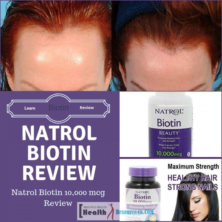 Natrol Biotin 10,000 mcg Review