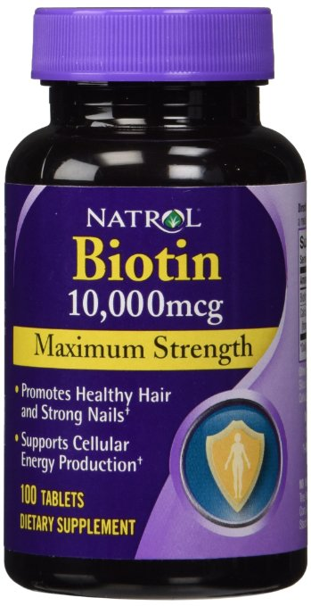 Natrol Biotin 10,000 mcg Review Best vitamin B7 Supplement