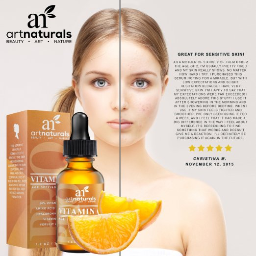 ArtNaturals Enhanced Vitamin C for sensitive skin