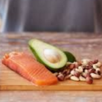 Protein rich foods like Mmeat, fish, nuts and som evegetables
