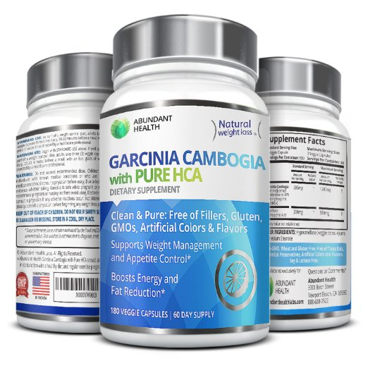 100% HCA Maximum Strength Garcinia Cambogia Extract 45
