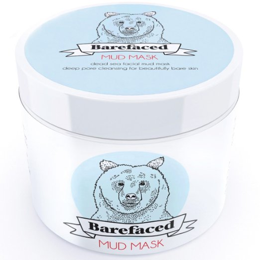 Barefaced Dead Sea Facial Mud Mask