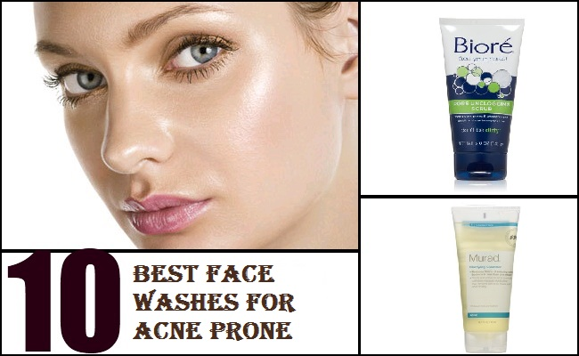 Best Face Washes for Acne Prone Skin