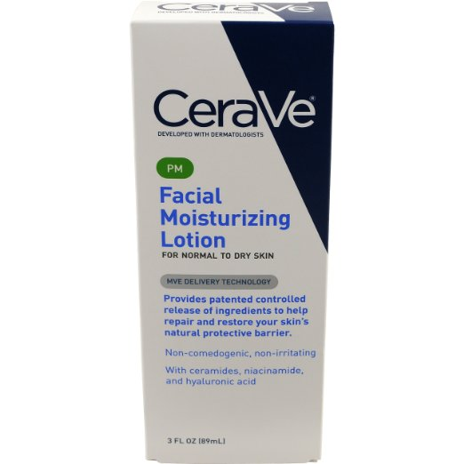 CeraVe Moisturizing Facial Lotion