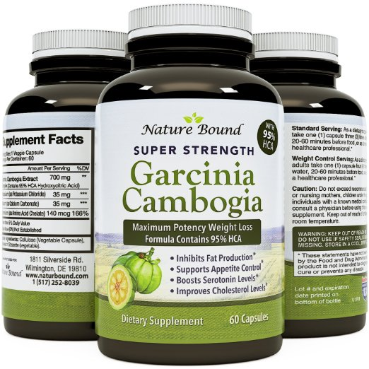 Nature Bound Super Strength Garcinia Cambogia
