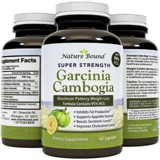 Nature Bound Super Strength Garcinia Cambogia