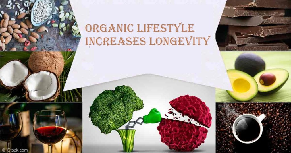 Organic Lifestyle Increases Longevity
