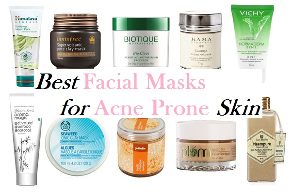 Best Facial Masks for Acne Prone Skin