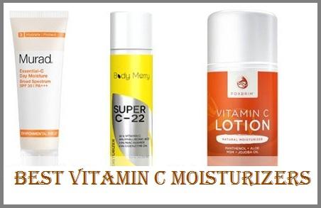 Best Vitamin C Moisturizers
