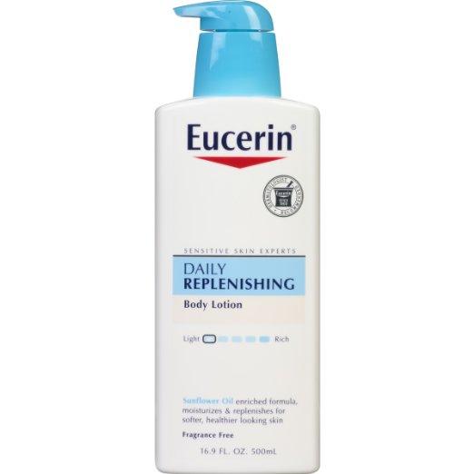Eucerin Daily Replenishing Moisturizing Lotion