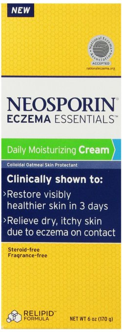 Neosporin Essentials Eczema Daily Moisturizing Cream