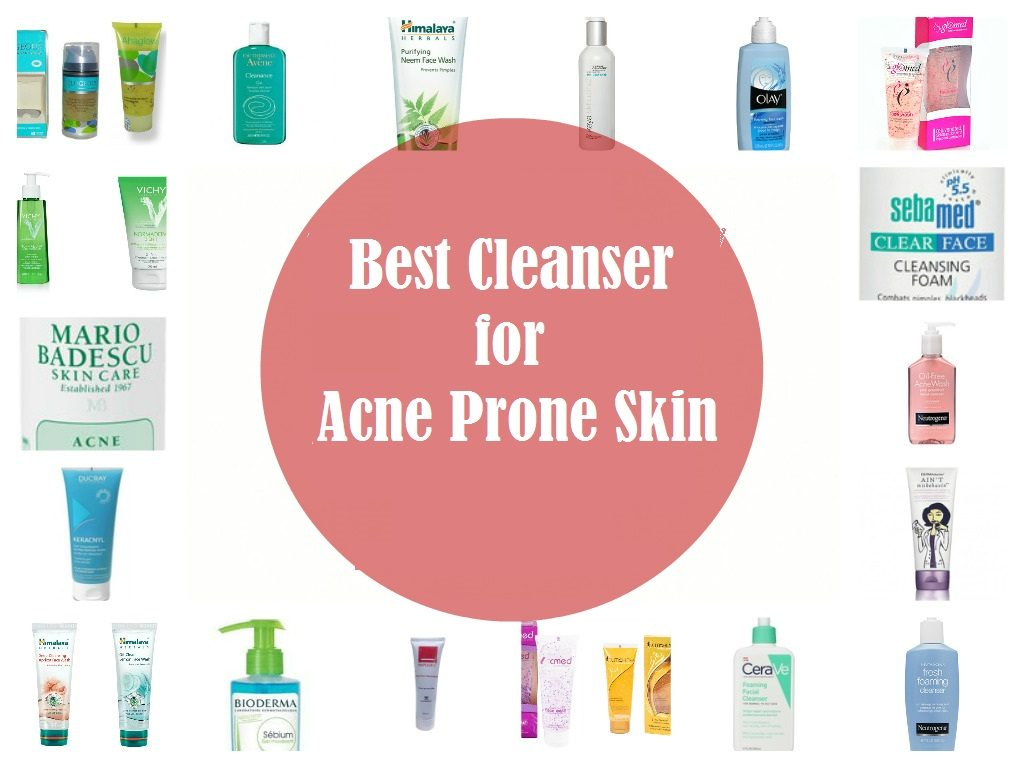 Best Cleanser for Acne Prone Skin
