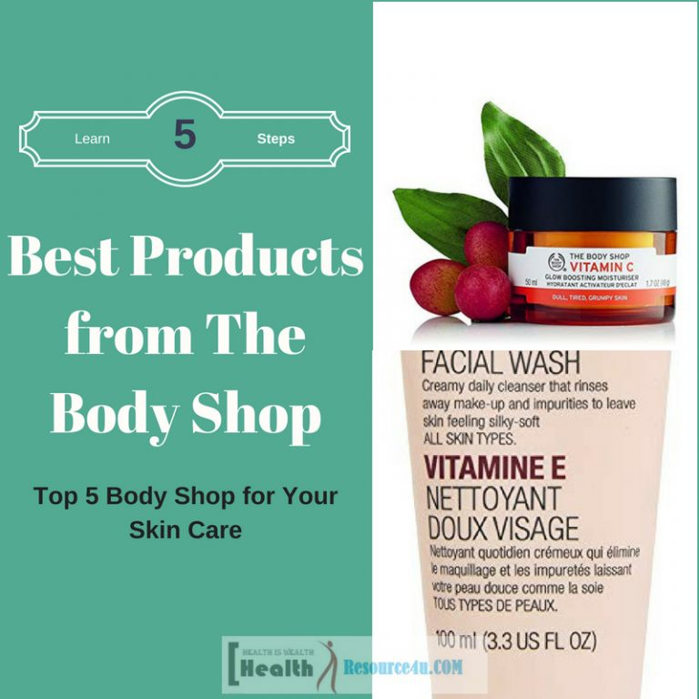 Best Products from The Body Shop