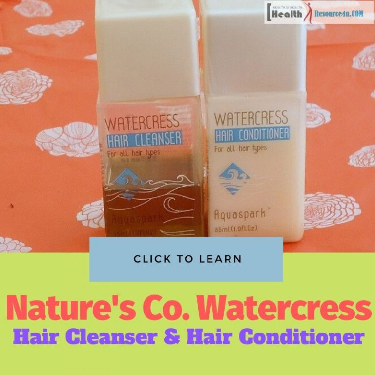 Natures Co Watercress Hair Cleanser vs Hair Conditioner