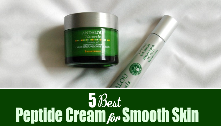 5 best peptide cream for smooth skin