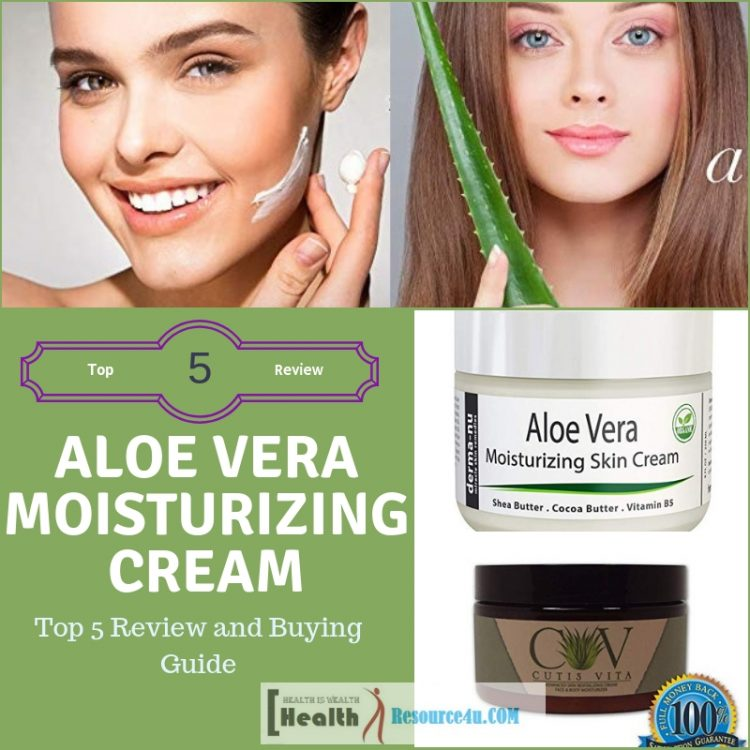 Best Aloe Vera Moisturizing Creams