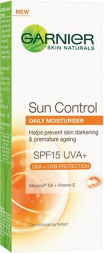 Garnier Sun Control Daily Moisturizer SPF 15