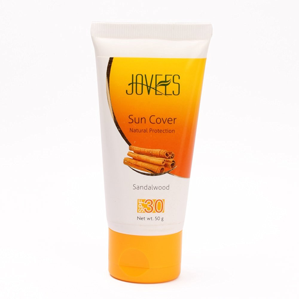 Jovees Sandalwood Sun Cover Natural Protection SPF 30