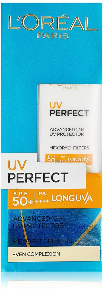 L'Oreal Paris UV perfect Advanced 12H Longlasting UV protector