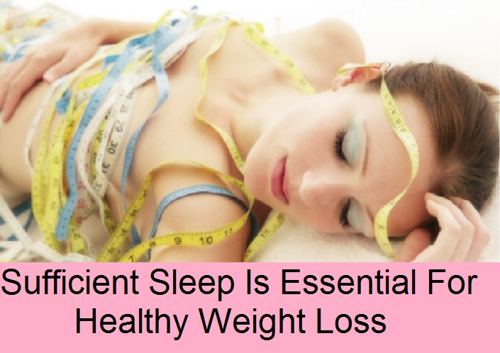 Sufficient Sleep Is Essential For Healthy Weight Loss