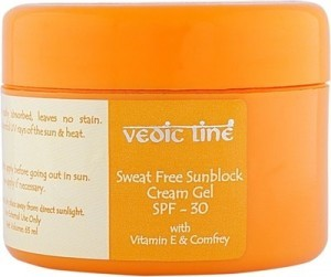 Vedic Line Sweat Free Sunblock Cream Gel SPF 30