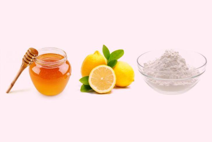 lemon-honey-baking-soda-face-mask