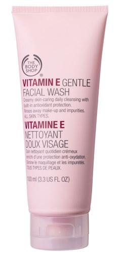 Body Shop Vitamin E Gentle Face Wash