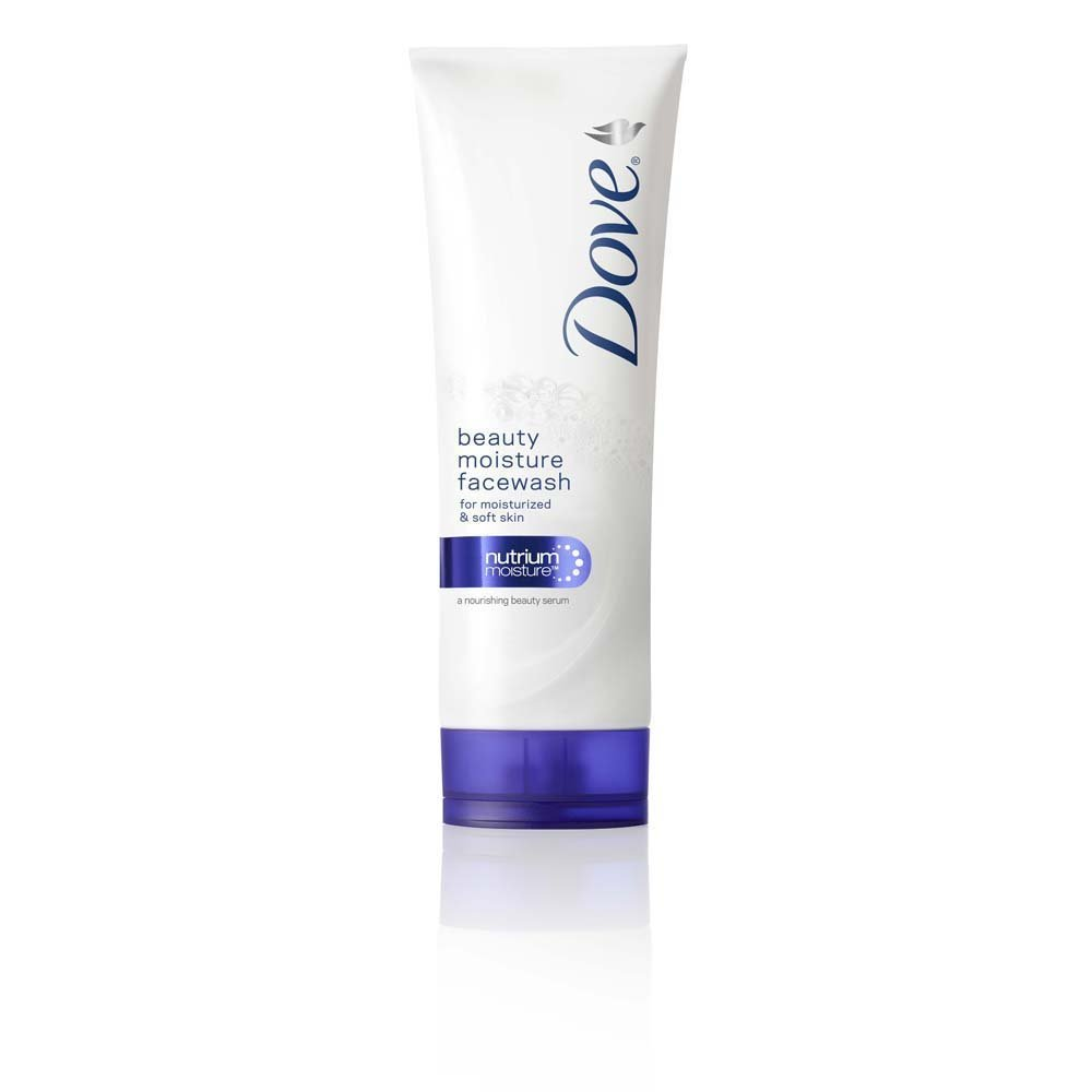 Dove Beauty Moisture Face Wash with Nutrium Moisture