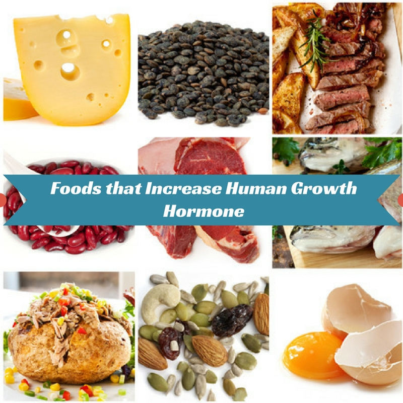 Foods that Increase Human Growth Hormone Naturally