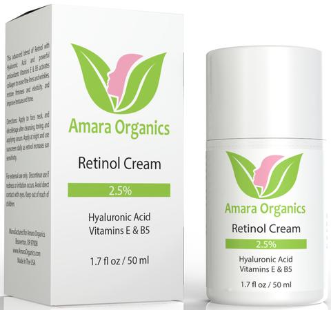 Amara Organics Retinol Cream