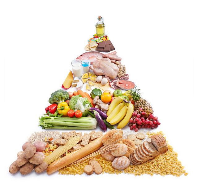 The Food Pyramid Versus Plate