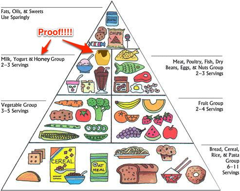 Weight Loss and the Pyramid-Plate Difference