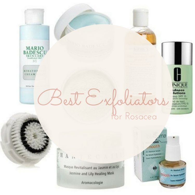 Best Exfoliators for Rosacea