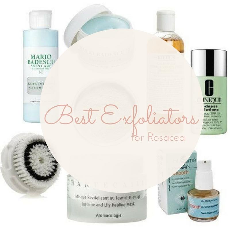 Best Exfoliators for Rosacea