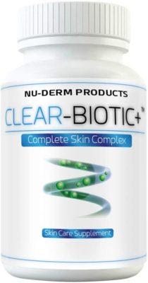 Clear Biotic Acne Pill Vitamins