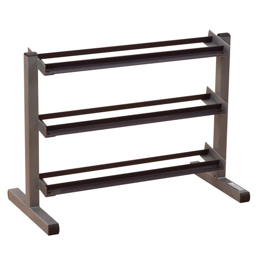 Body Solid GDR-363 3-Tier Horizontal Dumbbell Rack