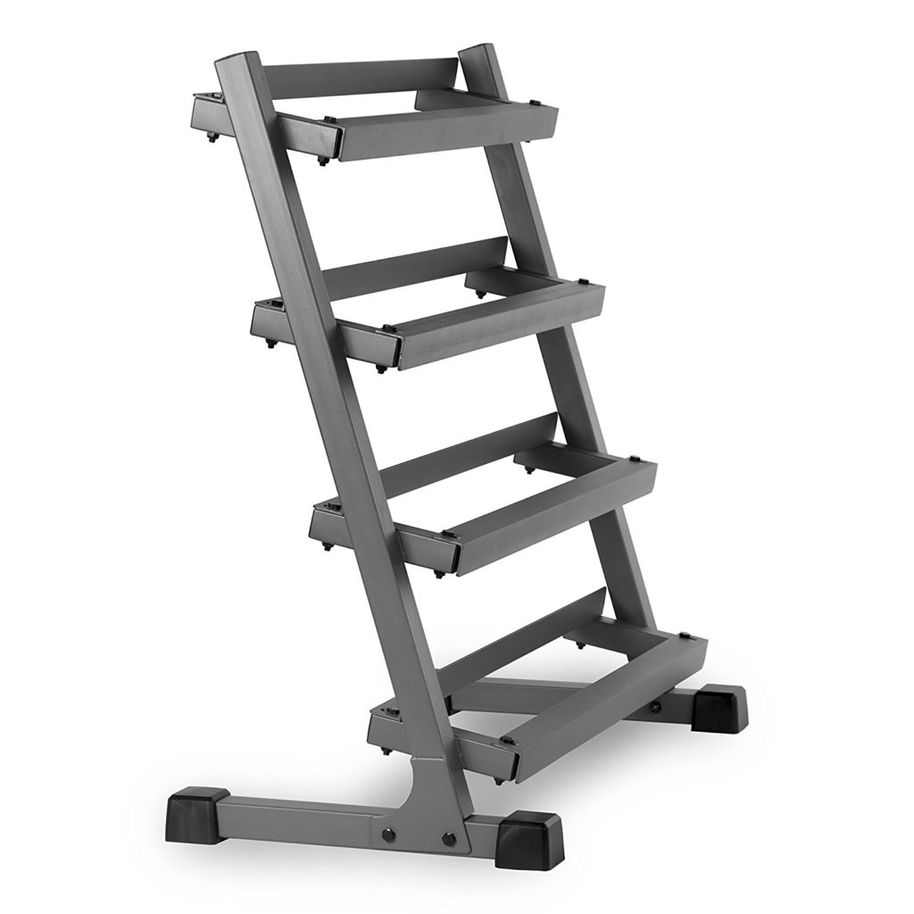 XMark Fitness 3 Four-Tier Dumbbell Rack XM-3109.1