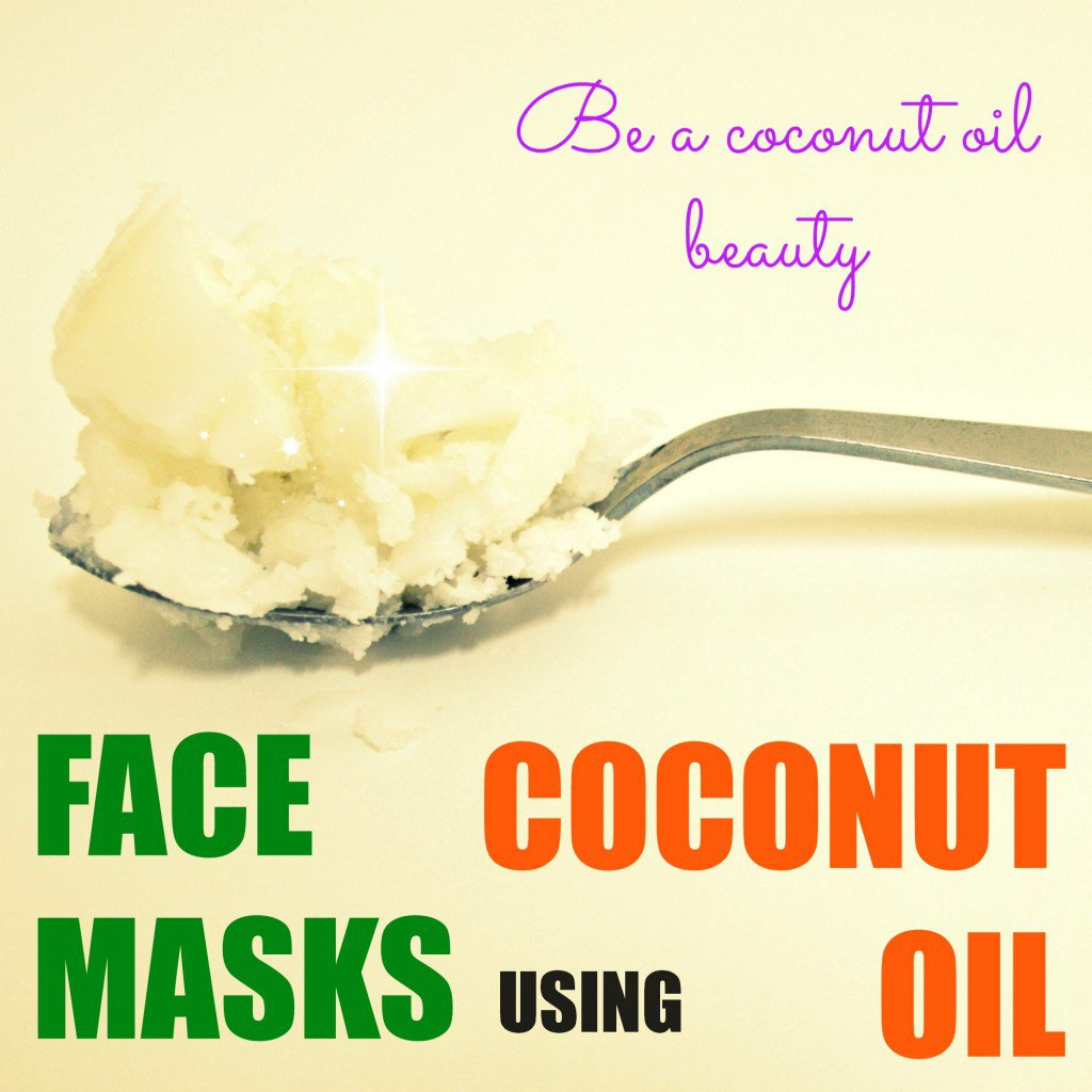 Coconut oil best for face masks and skincare